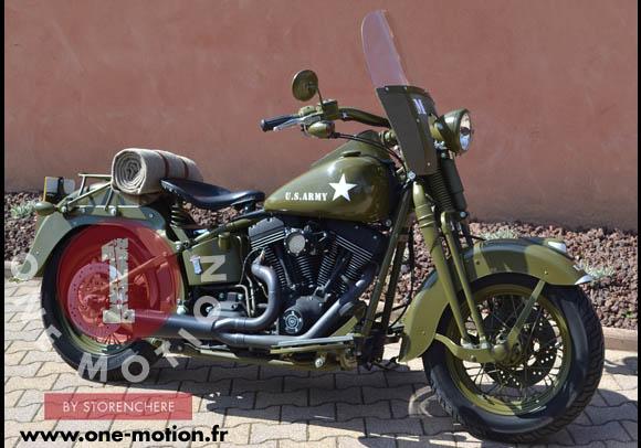 Harley Davidson Springer Army on Harley Heritage Springer